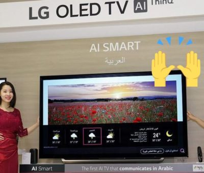 arabic speaking smart tv