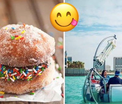 Ride Inside A Donut Boat While Eating Ice Cream Bahrain events