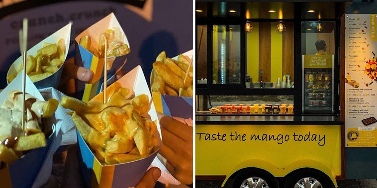 Food Truck On Estiqlal Avenue