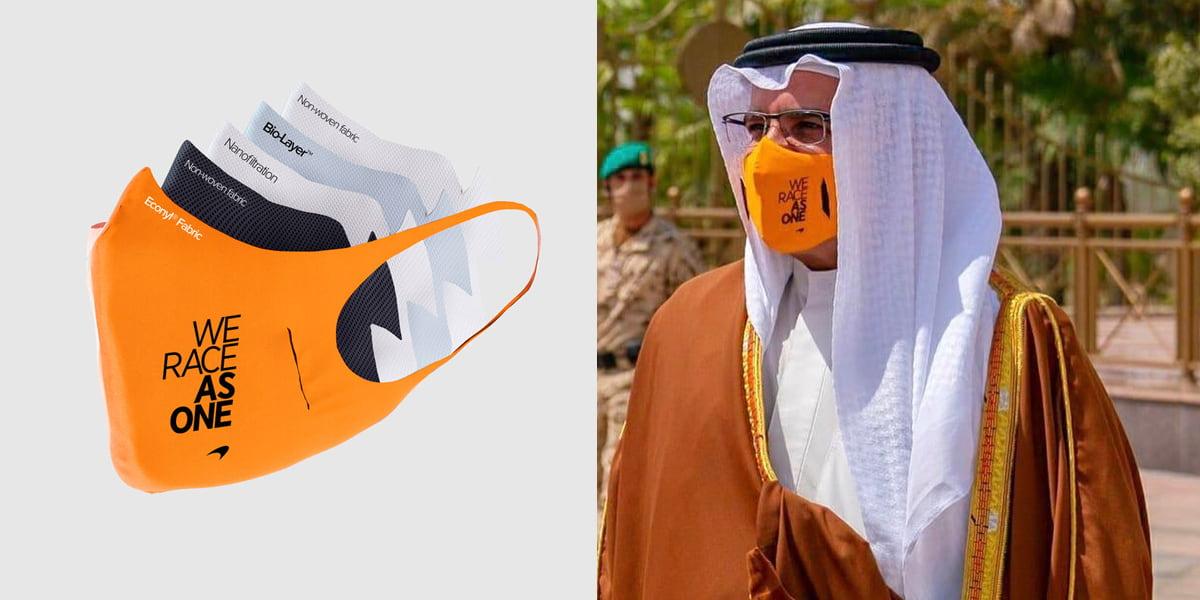McLaren F1 Face Mask