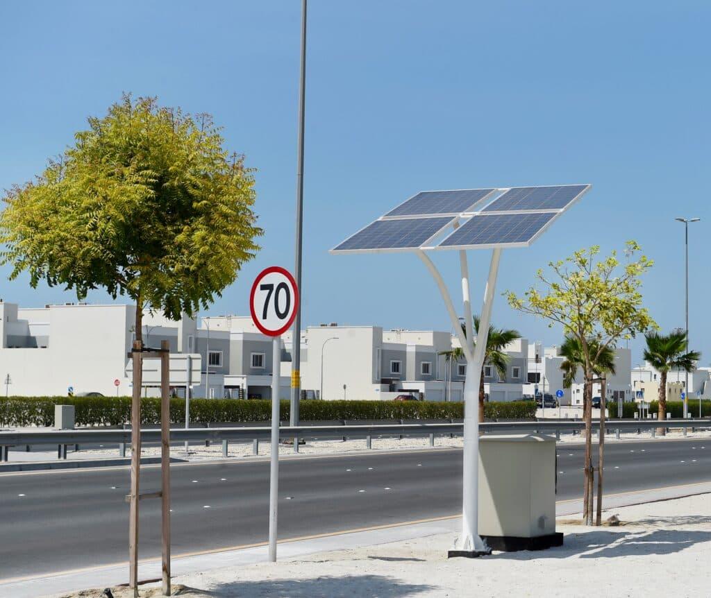 solar energy trees