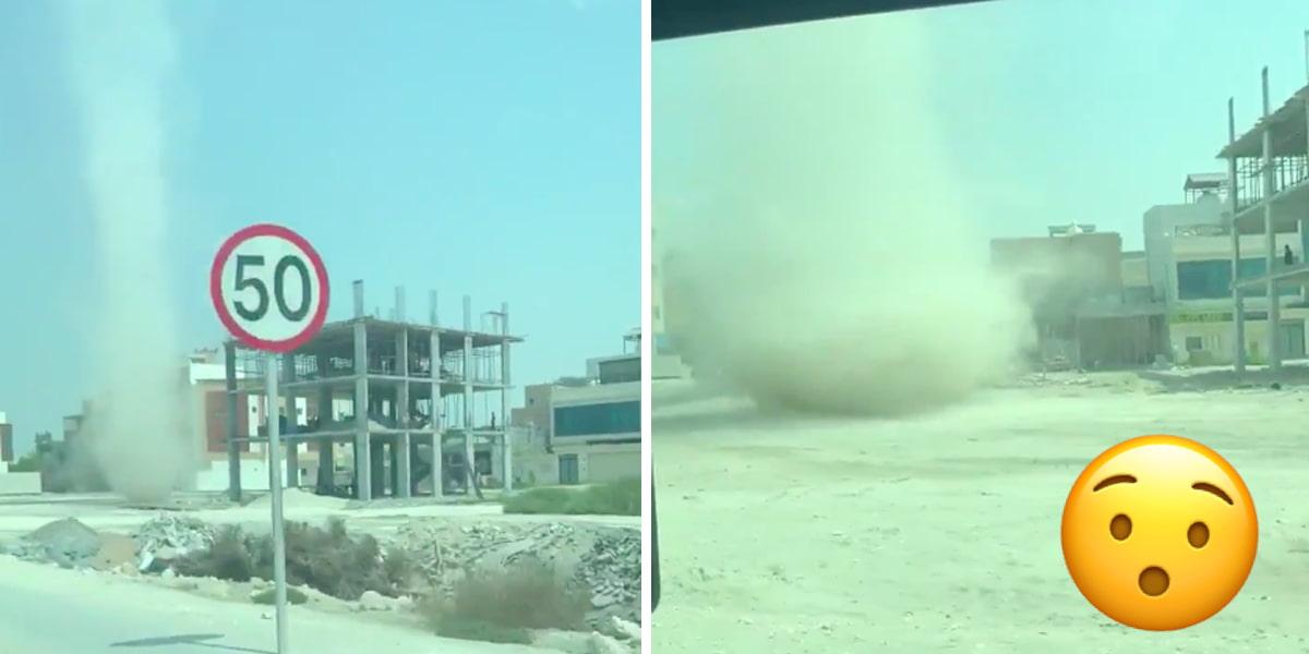 dust storm Bahrain