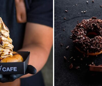 Donuts With Ice Cream