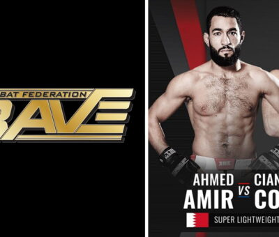 Bahrain's MMA Fighter In Brave CF 41 Championship