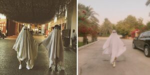 viral TikTok trend with ghosts in Bahrain