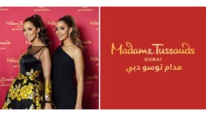 Balqees fathi at Madame Tussauds Dubai