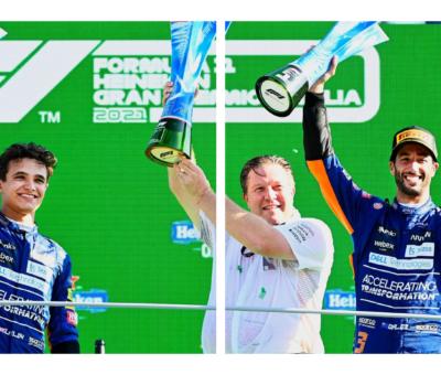 McLaren at Italian Grand Prix