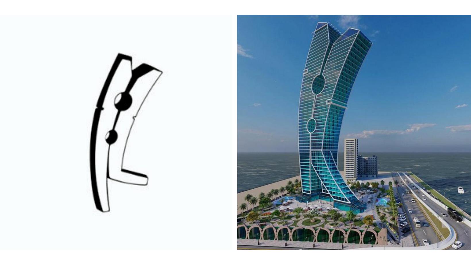 New building in Dubai
