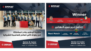 Bahrain at MMA World Cup
