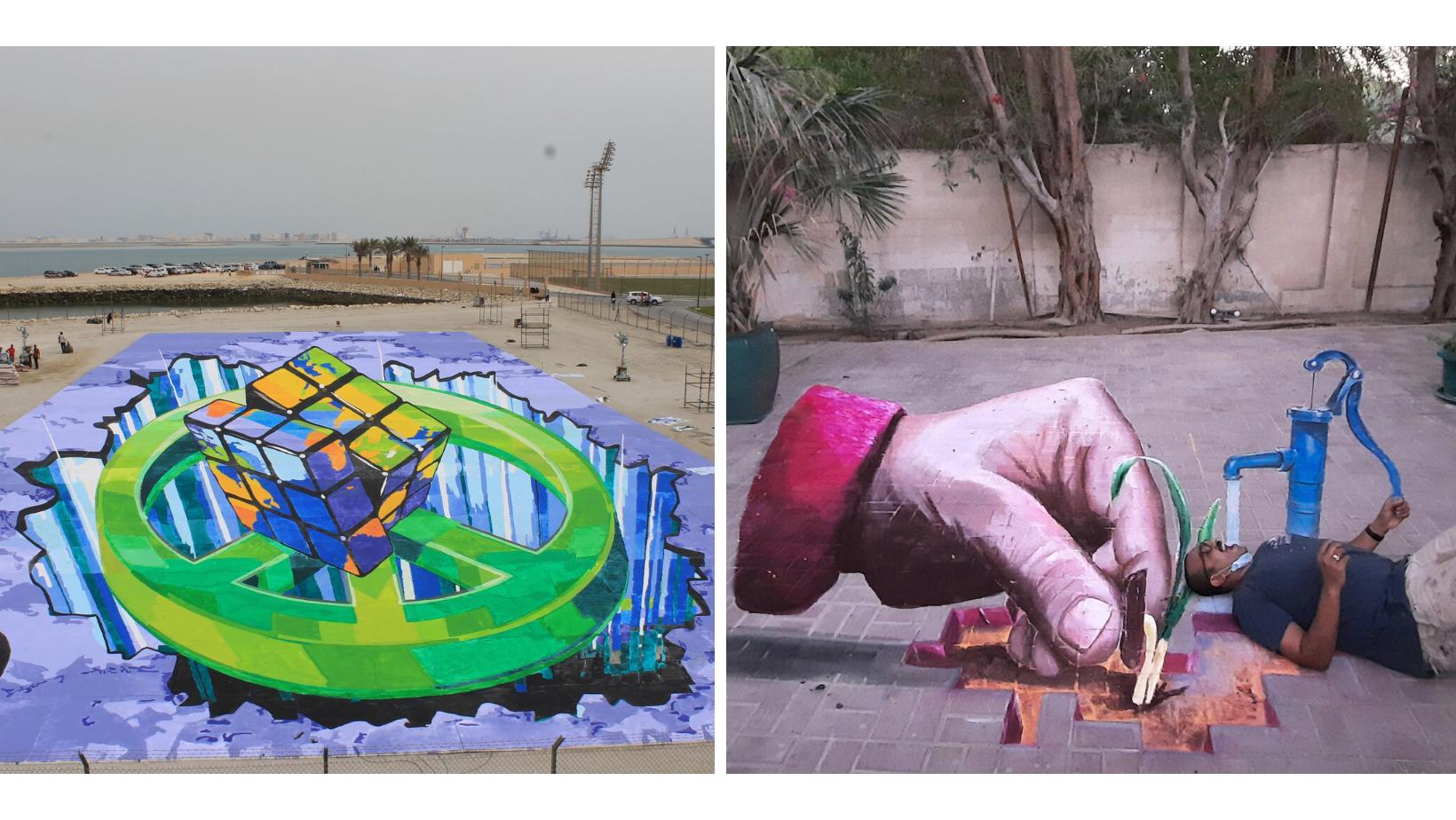 Chalk art World Record