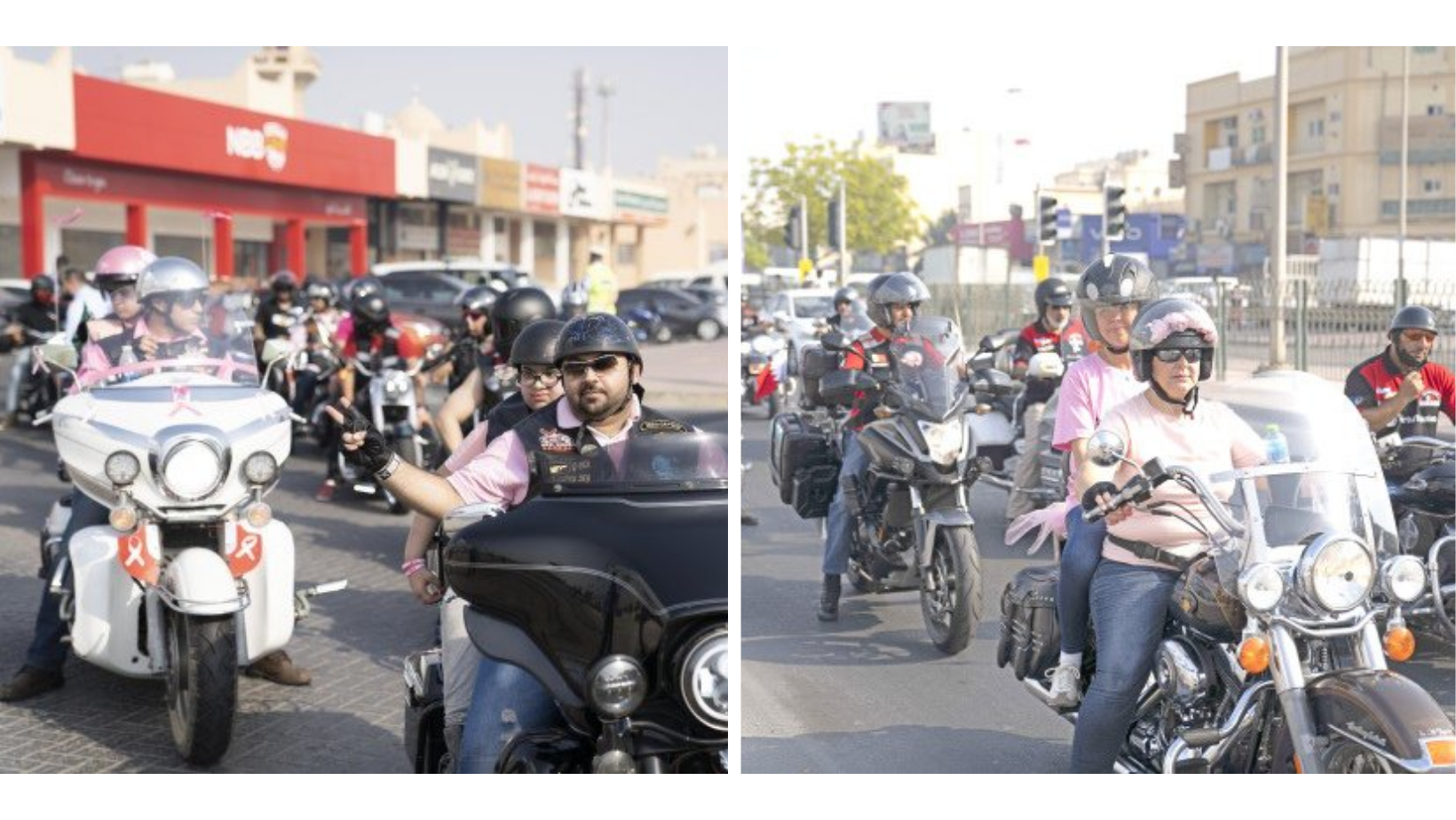 Bikers Go Pink