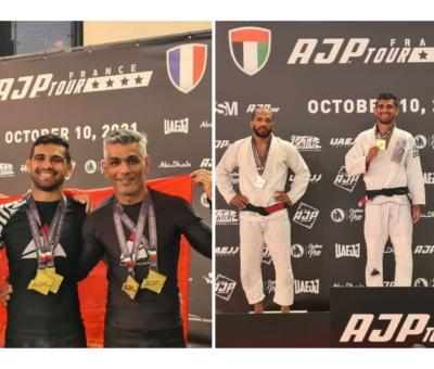 Bahrain 5 Gold medals